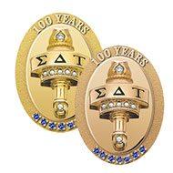 SDT cent badge frame
